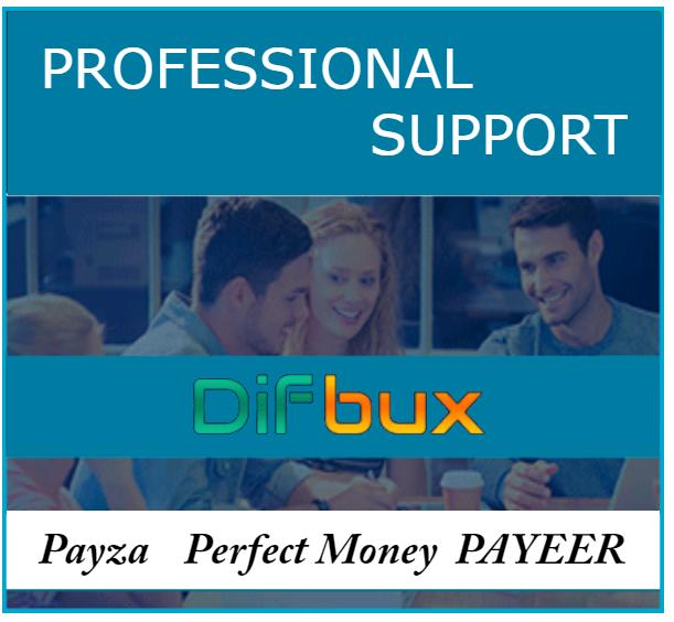 Заробляй від 120$ на Difbux!