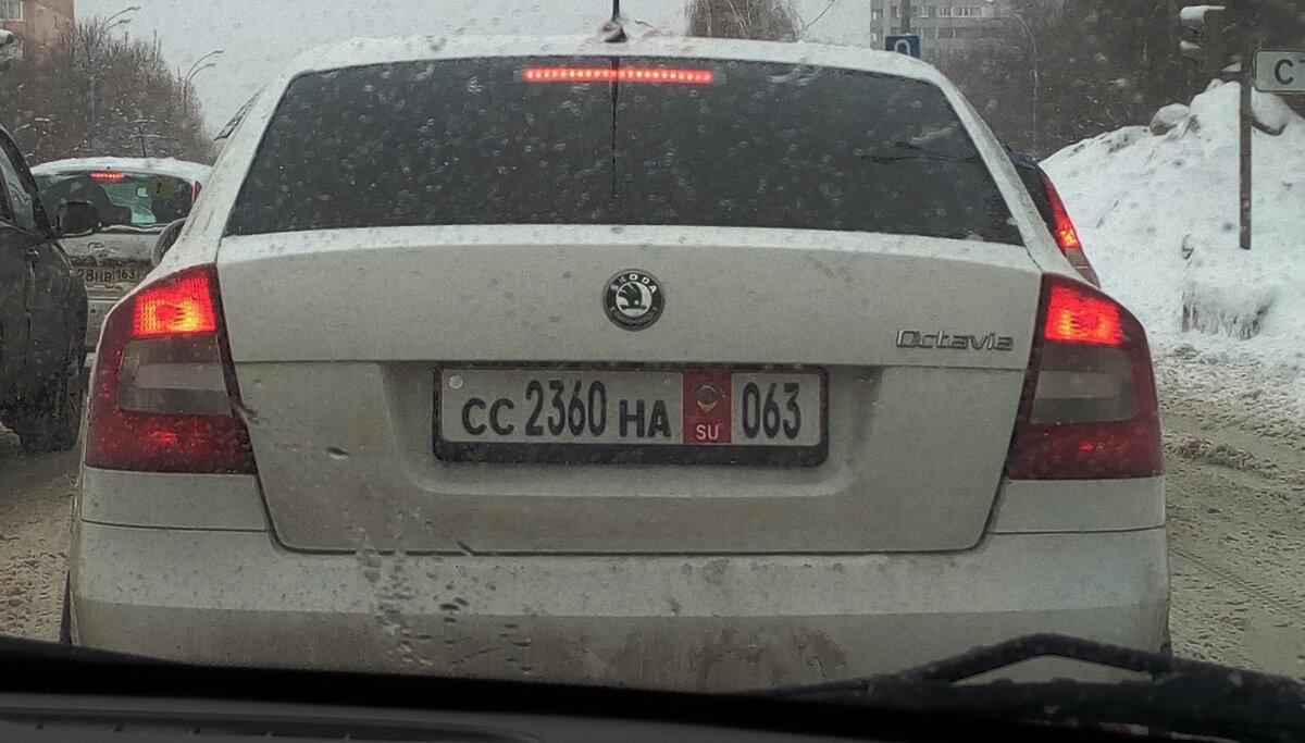 На дорогах з'явилися автомобілі з радянськими номерами нового зразка. Нова хитрість автолюбителів!