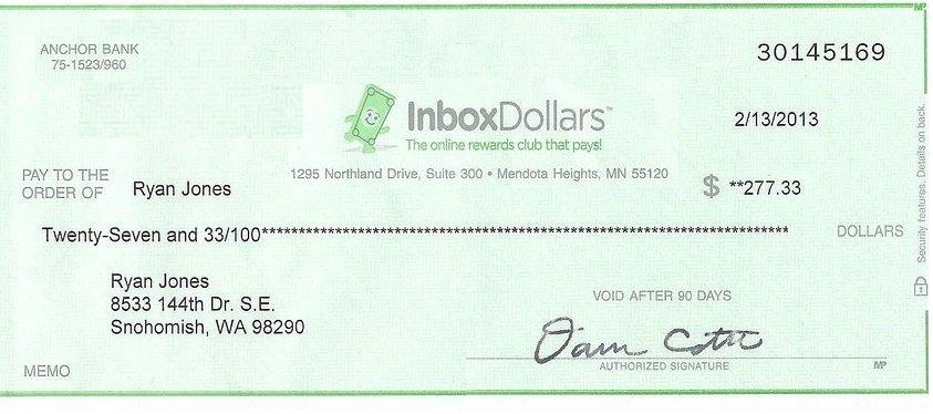Дізнайся як заробити на InboxDollars!