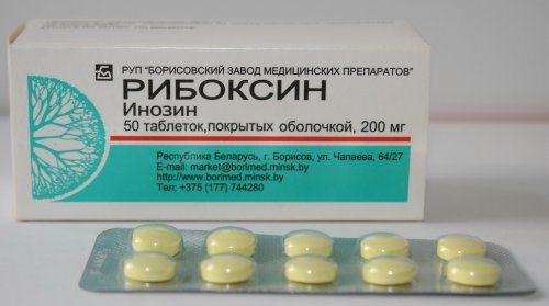 Рибоксин для поліпшення кровообігу