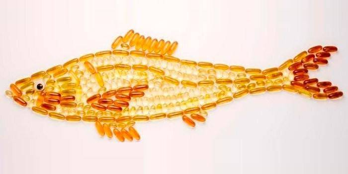 Риба з капсул з риб'ячим жиром